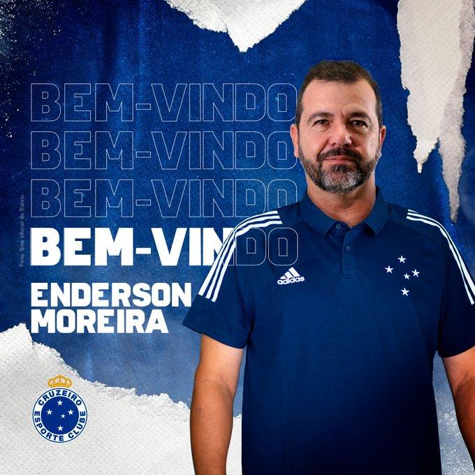 Com Historico Vencedor Na Serie B Enderson Moreira E O Novo Tecnico Do Cruzeiro Deus Me Dibre